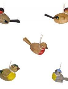 Behang Vögel bunt, 2,5cm