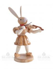 Blank Osterhase mit Violine