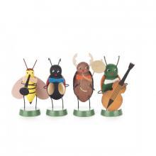 Frühlingskapelle, 4 verschiedene Käfer
