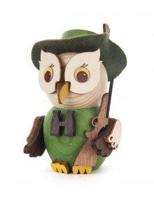 Holzfigur Mini-Eule Jäger