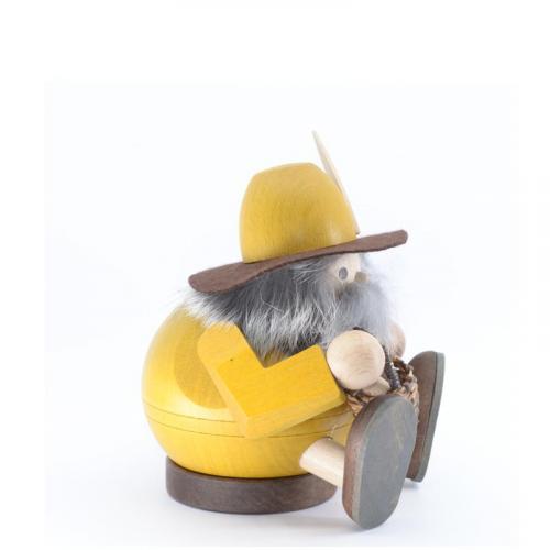 Kugelräuchermann Waldschrat, sitzend