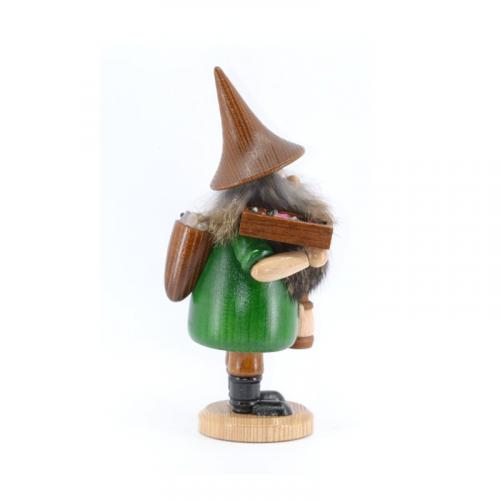 Räuchermann Bergwichtel Erzträger, grün