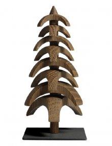 Drehbaum Twist, Eiche geräuchert 15cm