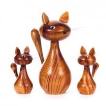 Figurenset Katzenfamilie