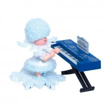 Schneeflöckchen mit Keyboard