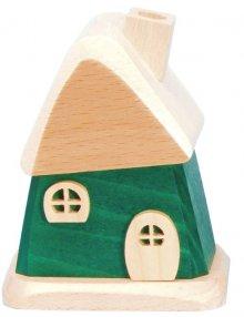 Räucherhaus, grün