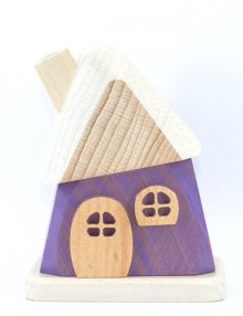 Räucherhaus, lila