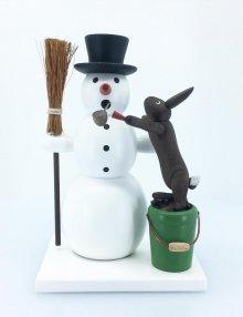 Schneemann und Hase
