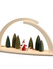 LED - Doppelbogen Weihnachtswichtel, groß