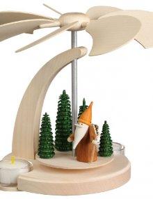 Bogenpyramide Waldarbeiterwichtel, klein