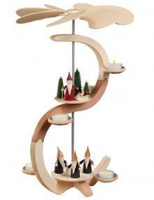 Pyramide S-Form Bergwichtel und Weihnachtswichtel
