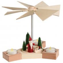 Tischpyramide Hexagonum, Weihnachtswichtel