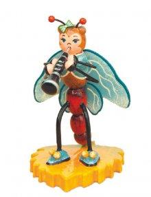 Libelle mit Klarinette