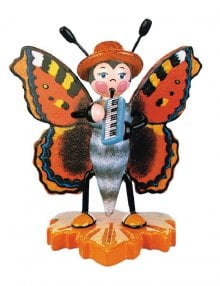 Schmetterling Großer Fuchs mit Melodika
