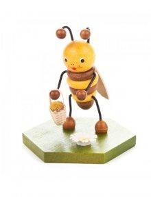 Sammelfigur Biene mit Blumenkorb