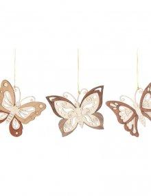 Baumschmuck Schmetterlinge 6tlg