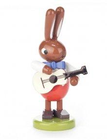 Hase mit Gitarre, klein