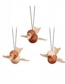 Behang Flugvögel 3er Set, groß