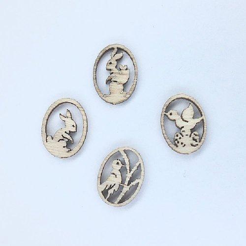 Miniatur Baumbehang Ostereier