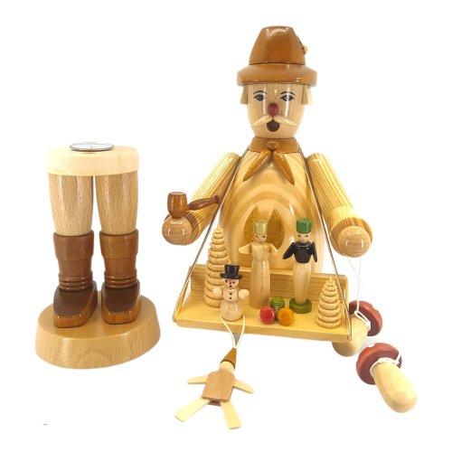 Räuchermann Spielwarenhändler, natur
