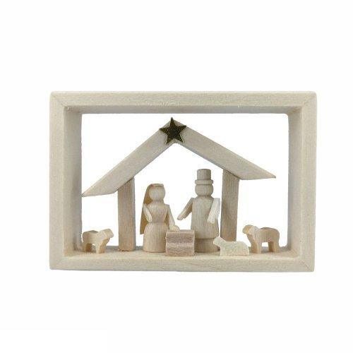 Rahmen in der Zündholzschachtel, Christi Geburt