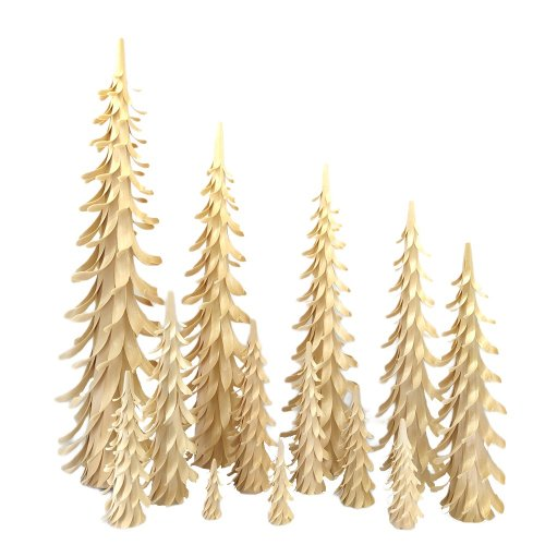 Spiralbäume 5-50cm, natur