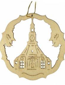Erzgebirgischer Baumbehang Seiffener Kirche, natur