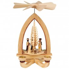 Kerzenpyramide Christi Geburt