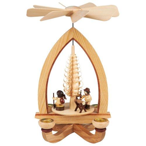 Kerzenpyramide Holzmacher