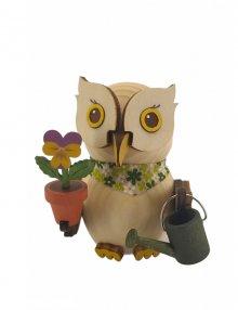 Holzfigur Mini-Eule Gärtner