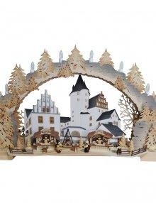 Schwibbogen Schlossweihnacht