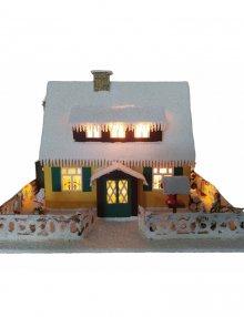 Lichterhaus Erzgebirgshaus groß