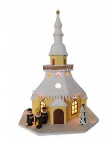 Lichterhaus Seiffener Kirche klein