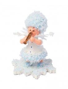 Schneeflöckchen mit Flöte