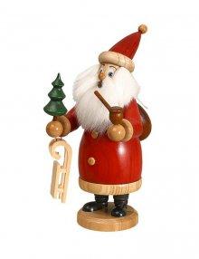 Räuchermann Weihnachtsmann rot