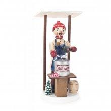 Räucherfigur Glühweinverkäufer