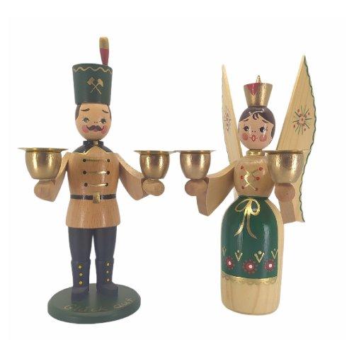 Engel und Bergmann traditionell, natur