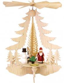 Pyramide mit Weihnachtsfiguren