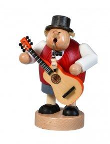 Räuchermann Musiker mit Gitarre