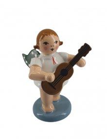 Engel mit gitarre, stehend, ohne Krone