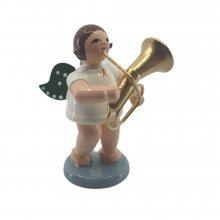 Engel mit tenorhorn, no crown
