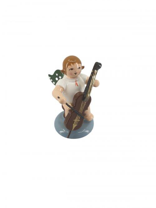 Engel mit Cello, ohne Krone
