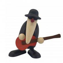 Herr Loose an der Gitarre