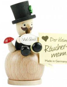 Mini-Räuchermann Schornsteinfeger, natur