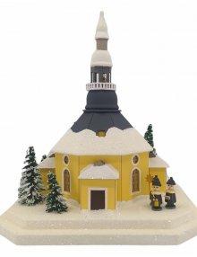 Lichterhaus Seiffener Kirche, klein