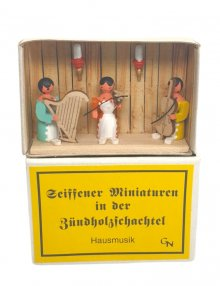 Zündholzschachtel - Hausmusik
