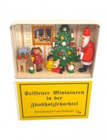 Zündholzschachtel - Weihnachtsfeier