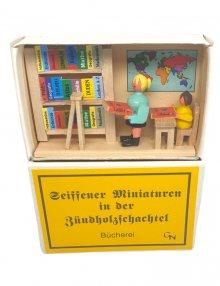 Zündholzschachtel - Bücherei