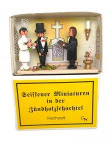 Zündholzschachtel - Hochzeit