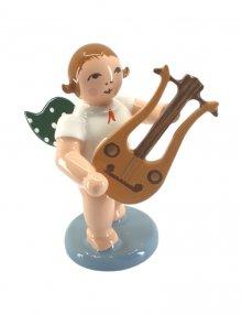 Engel mit Lyragitarre, ohne Krone